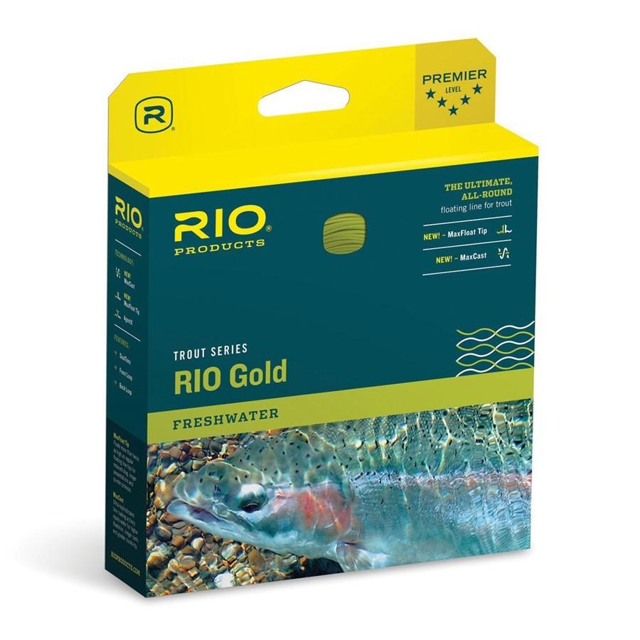 Linea de pesca a mosca Rio Gold