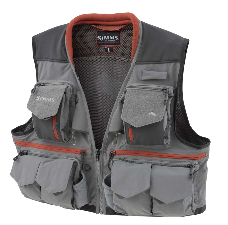 Chaleco Pesca Mosca Simms Guide Vest