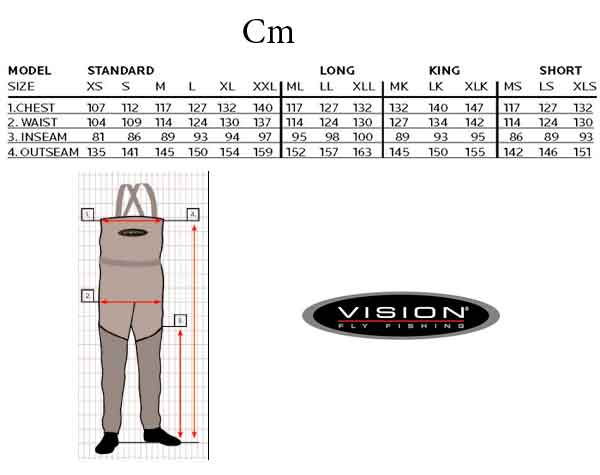 Vadeador Vision Ikon 2.0