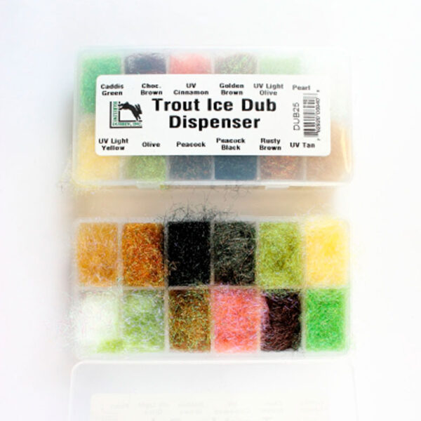 CAJA TROUT ICE DUBBING DISPENSER