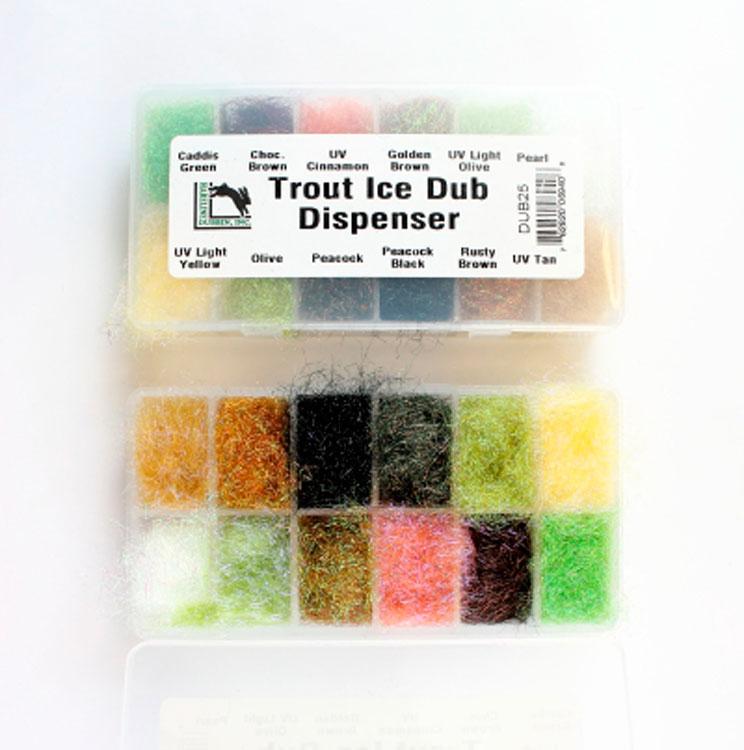 CAJA TROUT ICE DUBBING DISPENSER