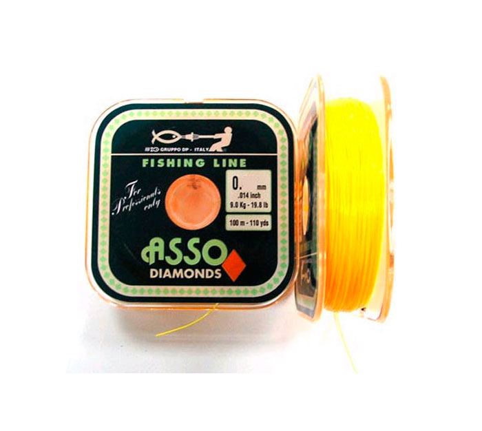 Nylon Asso Diamonds Amarillo