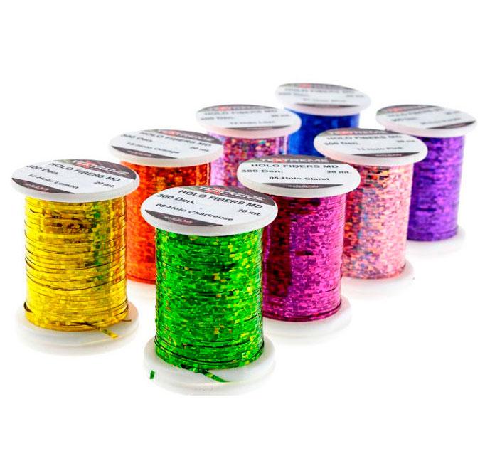 Tinsel Holografico Textreme Fino 150 Den Colores
