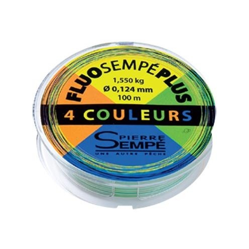 Hilo 4 Colores Fluo Sempe Plus 0.164 MM