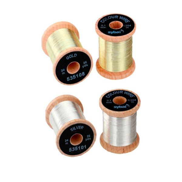 Flat Tinsel 0.4 mm Sybai Flythings