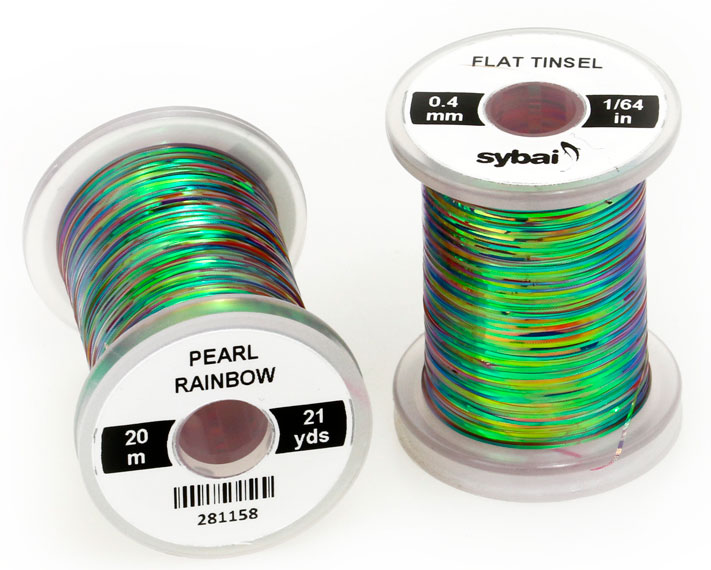 Flat-Tinsel-Sybai-Flythings-Pearl-green