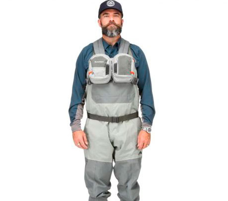 Chaleco Simms Waypoints Dual Chest Pack