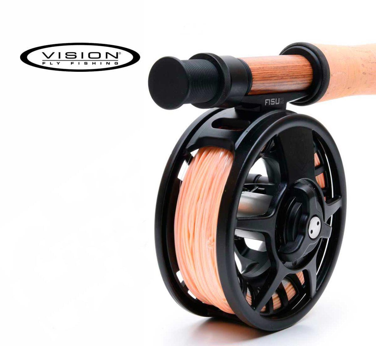 Kit Pesca Mosca Vision Fisu 2