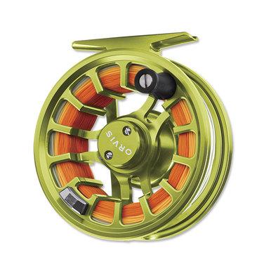 Carrete Pesca Mosca Orvis Hydros SL Citron