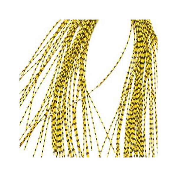 Patas de Goma Finas Moteadas Amarillas 0.5mm