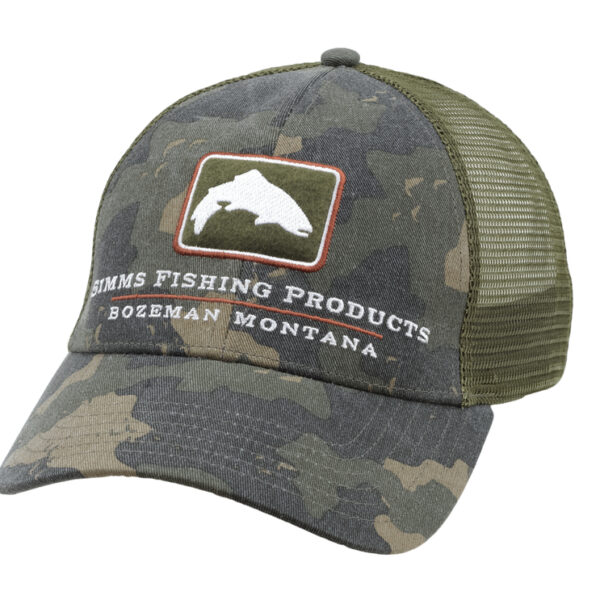 Gorra Simms Trout Icon Trucker