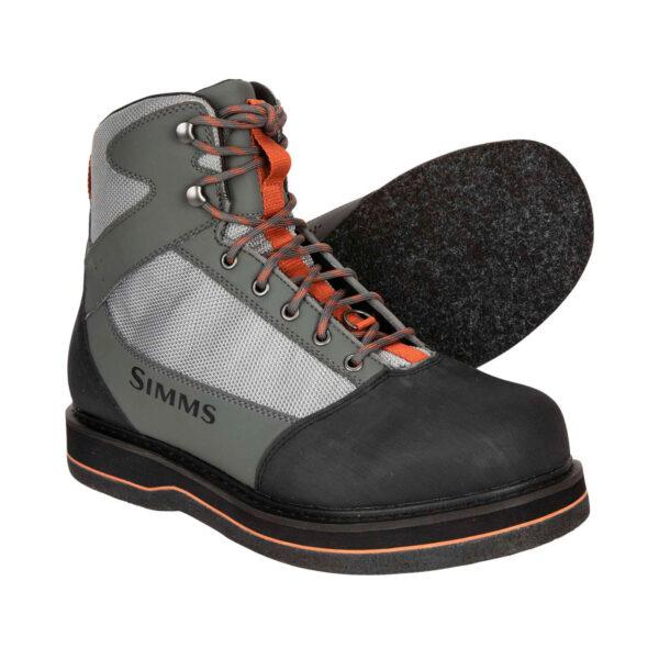 Botas Simms Tributary Striker Grey Boots Suela Fieltro 2021
