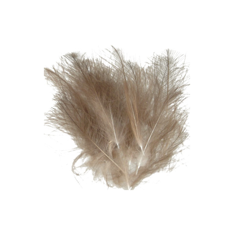 Plumas CDC Salvaje Natural Dun, Medium Dun, Light Dun 1 Gr