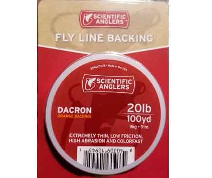 Backing-Pesca-Mosca-Scientific-Anglers-Dacron-20lb