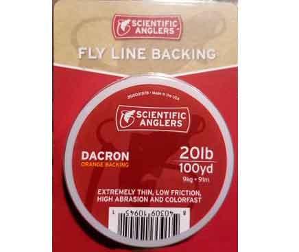 Backing-Pesca-Mosca-Scientific-Anglers-Dacron-20lb