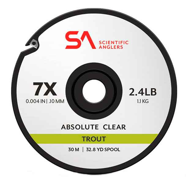 Scientific Anglers Absolute Trout Tippet Clear