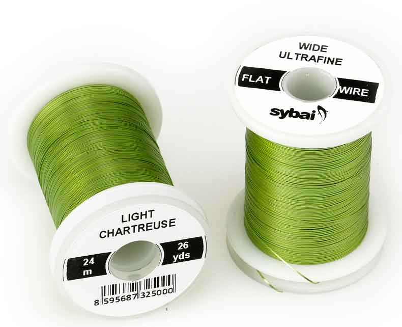 tinsel-wide-ultrafine-flat-wire-sybai-flythings-light-charteuse
