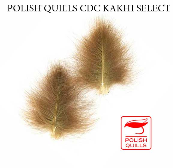 Plumas de CDC Pato Salvaje Polish Quills Selected