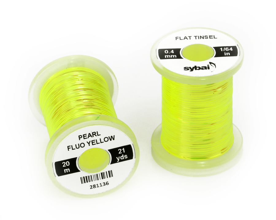 Flat Tinsel Sybai – FlyThings 0.4 MM